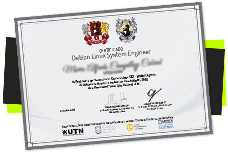 Certificado CLA Instituto Linux - UTN