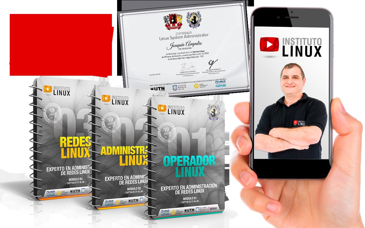 Carrera Linux - 100% a distancia y on line