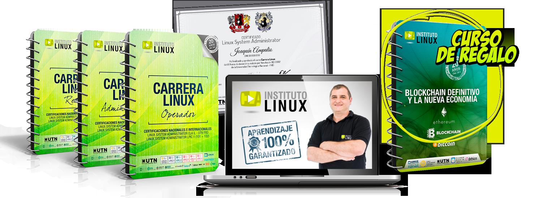 Carrera Linux + BLOCKCHAIN DEFINITIVO Y LA NUEVA ECONOMÍA ¡DE REGALO!