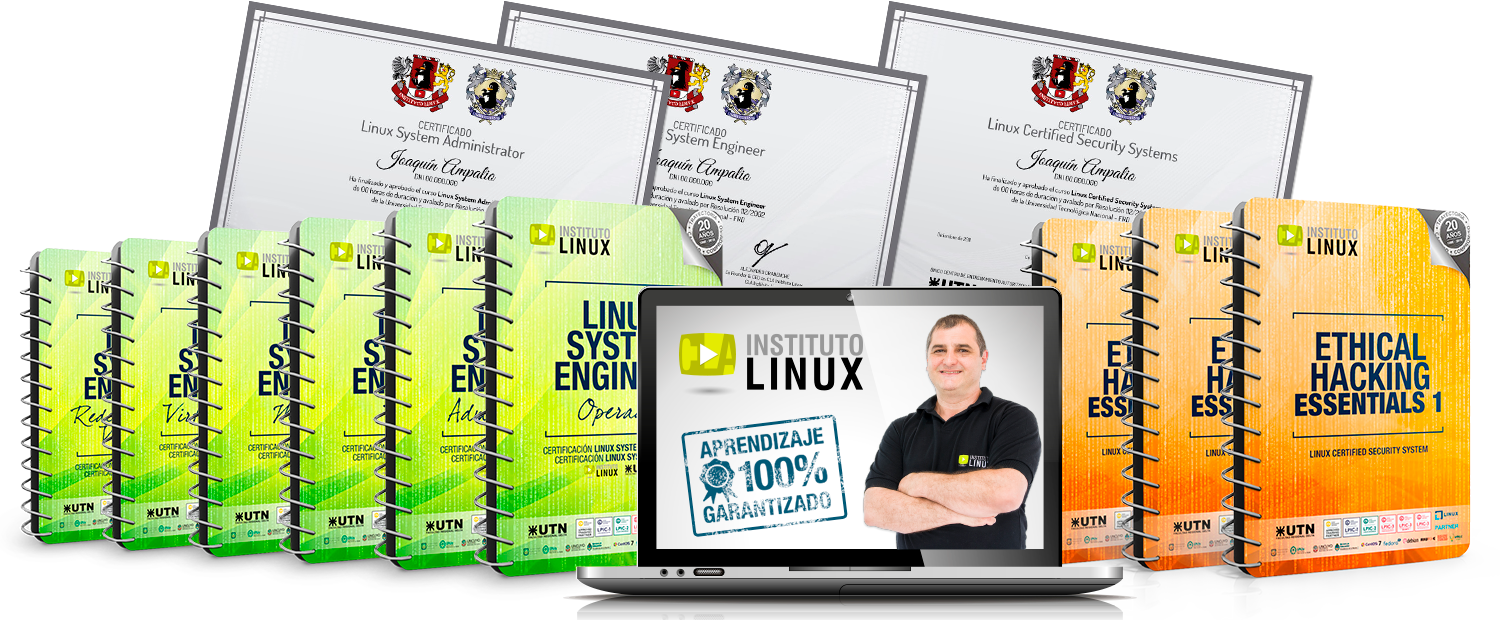 LINUX SYSTEM ENGINEER + ETHICAL HACKING EXPERT