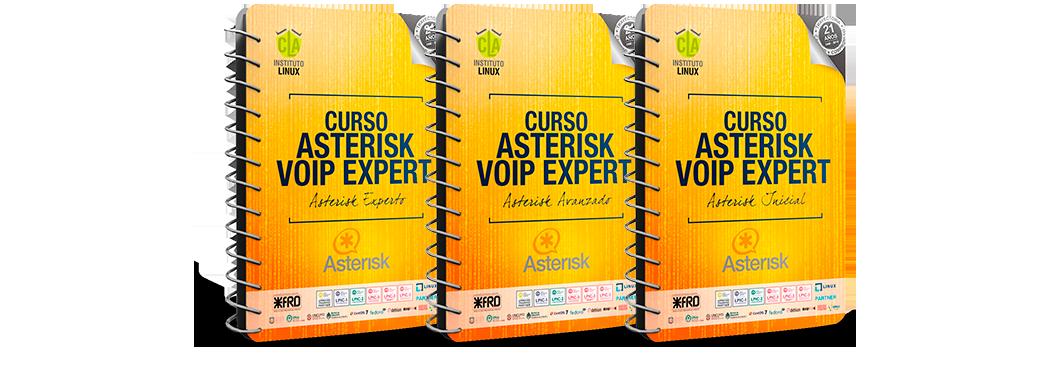 Módulos de ASTERSIK VOIP EXPERT (Intensivo)