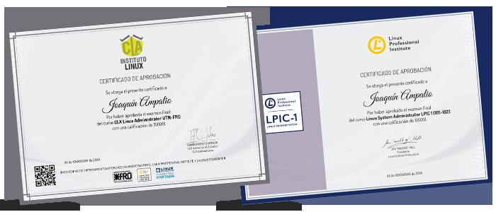 CERTIFICADOS UTN-FRD - LPIC 1